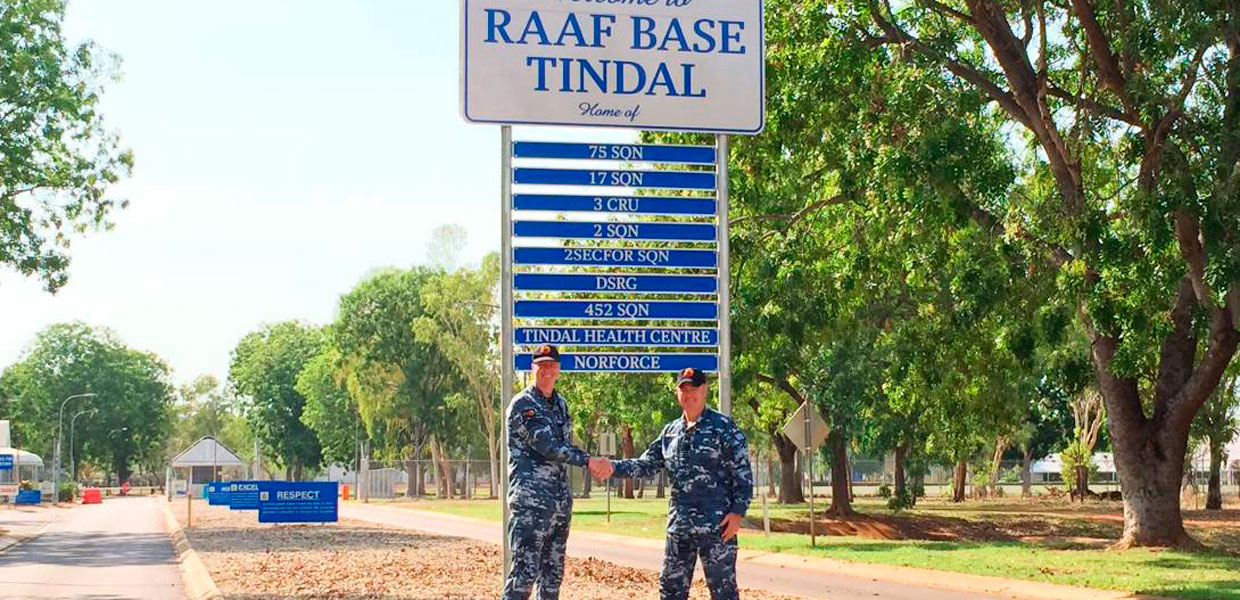 RAAF Base Tindal NACC Works