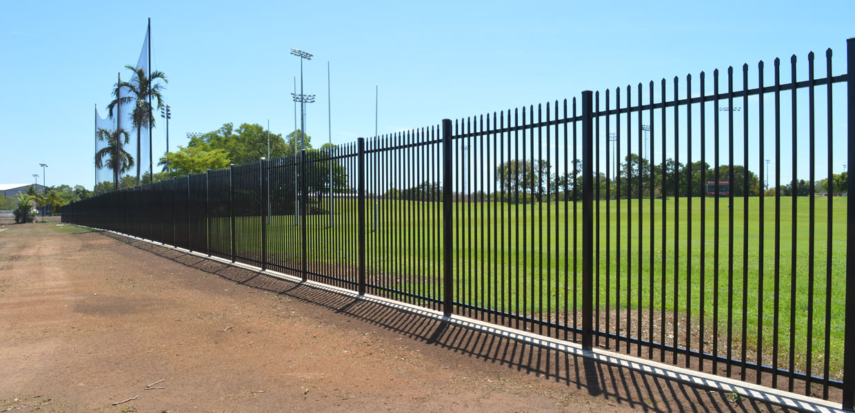 Tio Stadium security fencing